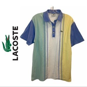 Lacoste Cotton Colourblock Polo Shirt